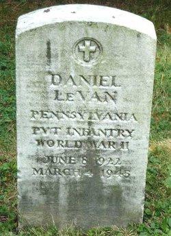 PVT Daniel F. LeVan