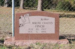 Annie Maude <I>Chaffin</I> Finch