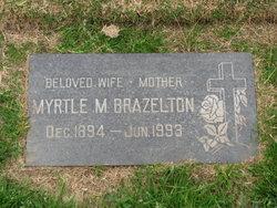 Myrtle M. <I>Foust</I> Brazelton