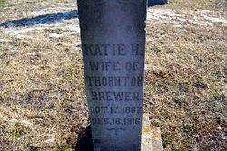 Katie H <I>Hamilton</I> Brewer