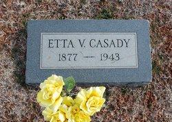 """Etta Violla """"Eddie"""" <I>Dillinder</I> Casady"""