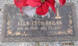 Ella Etta Bailey