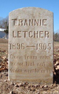 "Tranqella ""Trannie"" Letcher"