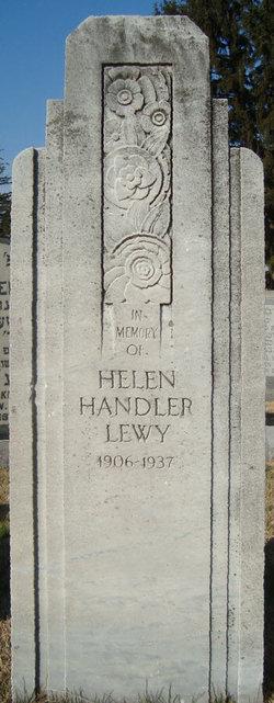 Helen <I>Handler</I> Lewy