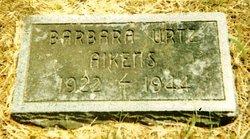 Barbara <I>Urtz</I> Aikens
