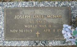 Joseph Oree McNab