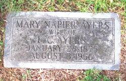 Mary Margaret <I>Napier</I> Ayers