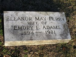 Eleanor May <I>Perry</I> Adams