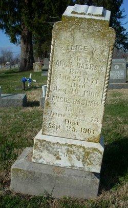 Alice V. <I>Atherton</I> Basham