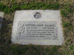 Ruthelaine <I>Farley</I> Rambo