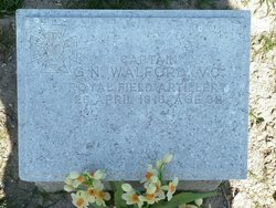 Capt Garth Neville Walford