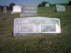 "Sarah ""Sallie"" <I>Reigle</I> Hartman"
