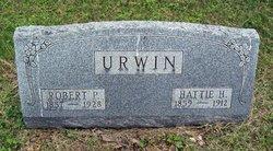 Hattie H <I>Dickey</I> Urwin