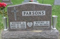Esther <I>Ammermann</I> Parsons
