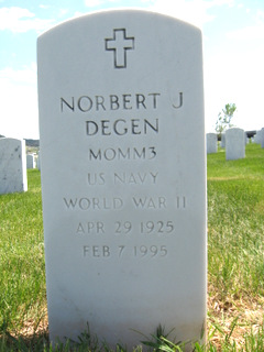 """Norbert John """"Bud"""" Degen"""