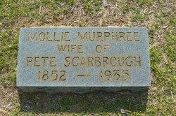 "Mary Ann ""Mollie"" <I>Murphree</I> Scarbrough"