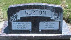 Mary Evelyn <I>Thorpe</I> Burton