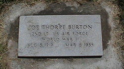 Joe T Burton
