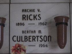 Archie Vernon Ricks