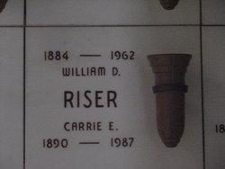 William David Riser