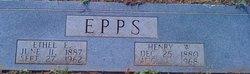 Ethel Eugenia <I>Franks</I> Epps