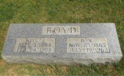D W Boyd