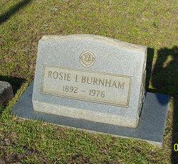 Rosie <I>Ivey</I> Burnham
