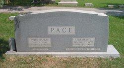 "Genevieve B ""Ginnie"" <I>Hutchison</I> Pace"