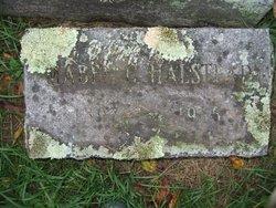 Mabel C <I>Jackson</I> Halstead