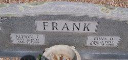 Edna Dorothy <I>Woehst</I> Frank