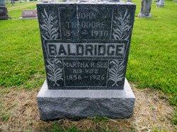 "Martha Rosanah ""Rosa"" <I>See</I> Baldridge"