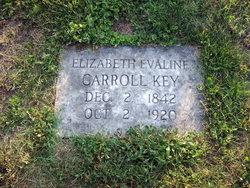Elizabeth Evaline <I>Carroll</I> Key