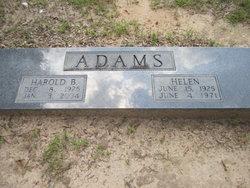 Harold Blackshear Adams