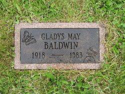Gladys Mae <I>Comstock</I> Baldwin