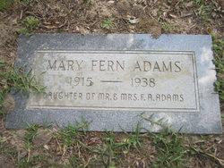 Mary Fern Adams