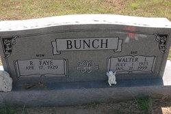 Walter L Bunch