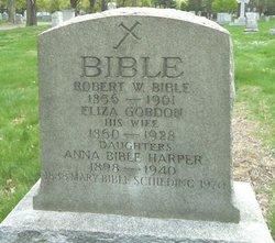 Eliza <I>Gordon</I> Bible