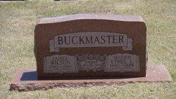Ethel Lucille <I>Williams</I> Buckmaster