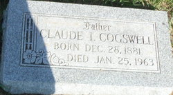 Claude Irvina Cogswell