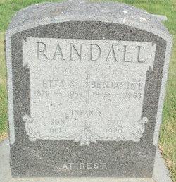Infant Daughter Randall