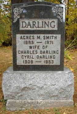 Agnes Mabel <I>Smith</I> Darling