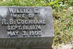 Willie Ella <I>Sargeant</I> Cochrane