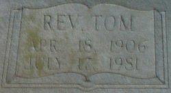 """Rev John Thomas """"Tom"""" Elliott"""