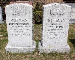 Bessie Rutman