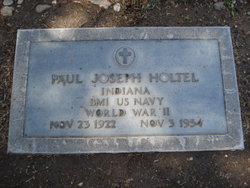 paul joseph holtel 1922 1954 find a grave memorial