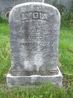 Lydia <I>Zettlemoyer</I> Brown