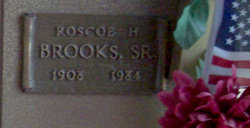 Rosco H Brooks, Sr
