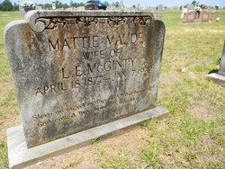 Mattie Maude <I>Leshe</I> McGinty