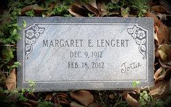 """Margaret Eleanor """"Tottie"""" Lengert"""