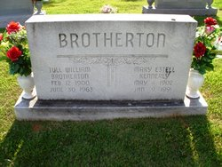 Mary <I>Estell</I> Brotherton